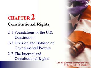 CHAPTER  2 Constitutional Rights