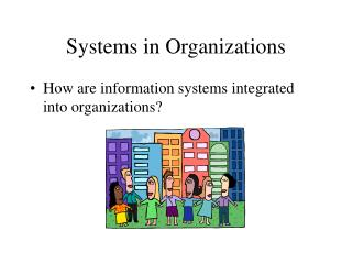 Systems in Organizations