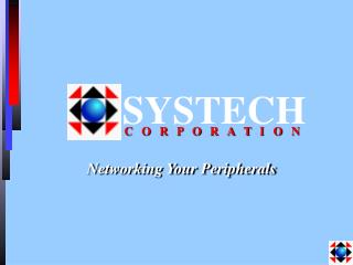 Networking Your Peripherals