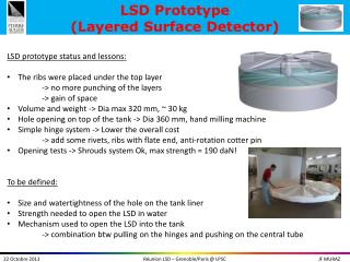 LSD Prototype (Layered Surface Detector)