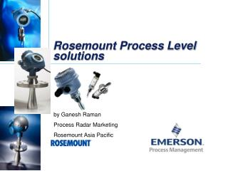 Rosemount Process Level solutions