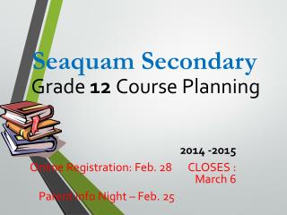 Grade  12  Course Planning