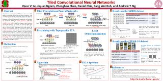 Tiled Convolutional Neural Networks