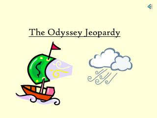 The Odyssey Jeopardy