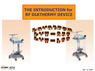 THE INTRODUCTION for  RF DIATHERMY DEVICE