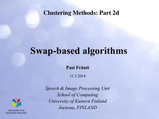 Swap-based algorithms