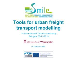 Tools for urban freight  transport modelling