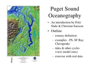 Puget Sound Oceanography
