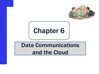 Data Communications and the Cloud