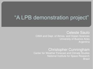 """A LPB demonstration project"""