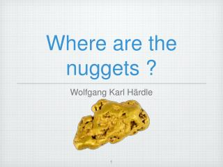 Where are the nuggets ?