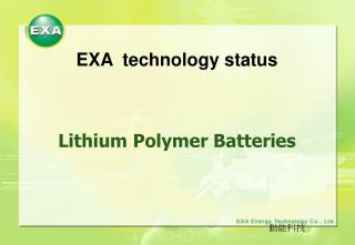 EXA technology status