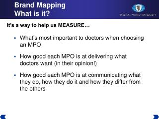 Brand Mapping What is it?