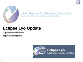 Eclipse  Lyo  Update open-services     eclipse / lyo