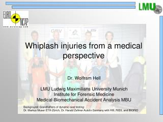 Whiplash injuries from a medical perspective