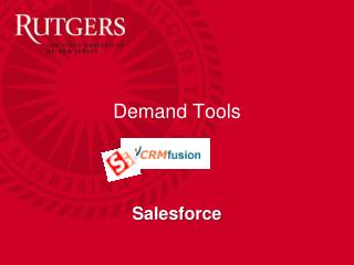 Demand Tools