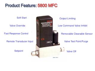 Product Feature:  5800 MFC