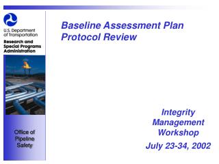 Baseline Assessment Plan Protocol Review