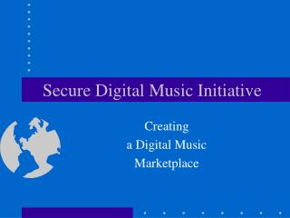Secure Digital Music Initiative