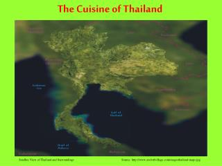The Cuisine of Thailand