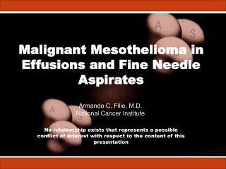 Malignant Mesothelioma in Effusions and Fine Needle Aspirates