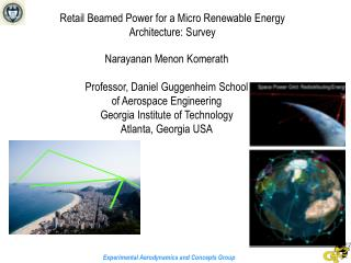 Retail Beamed Power for a Micro Renewable Energy Architecture: Survey