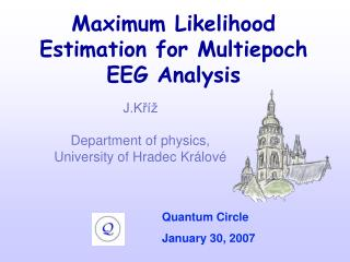 Maximum Likelihood Estimation for Multiepoch EEG Analysis