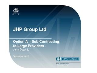 JHP Group Ltd