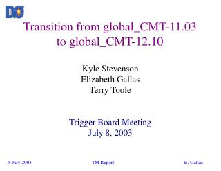 Transition from global_CMT-11.03 to global_CMT-12.10