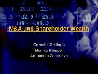 M&A und Shareholder Wealth