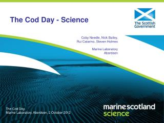 The Cod Day - Science