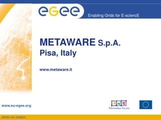 METAWARE  S.p.A.   Pisa, Italy metaware.it