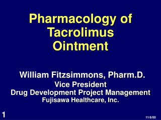 Pharmacology of Tacrolimus Ointment