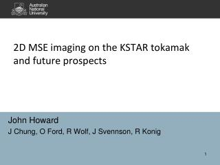 2D MSE imaging on the KSTAR tokamak and future prospects