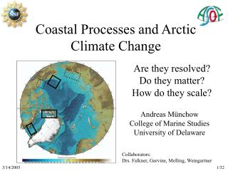 Coastal Processes and Arctic Climate Change
