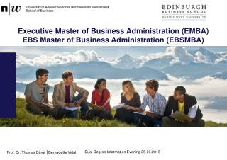 Executive Master  of  Business Administration (EMBA)