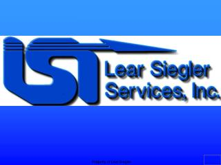 Property of Lear Siegler
