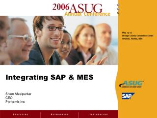 Integrating SAP & MES
