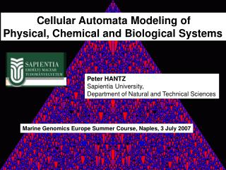 Cellular Automata Modeling of Physical, Chemical and Biological Systems