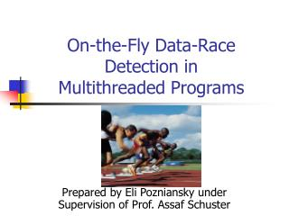 On-the-Fly Data-Race Detection in Multithreaded Programs
