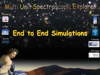 End to End Simulations