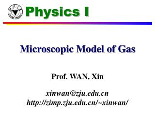 Microscopic Model of Gas