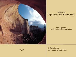 Basel II: Light at the end of the tunnel