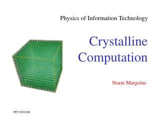 Physics of Information Technology