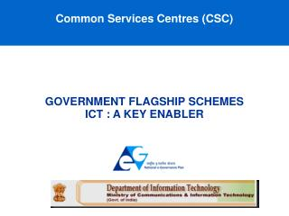 Common Services Centres (CSC)