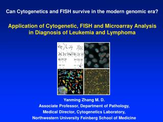 Can Cytogenetics and FISH survive in the modern genomic era?