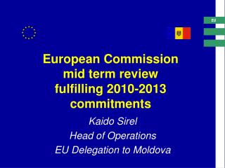 European Commission  mid term review  fulfilling 2010-2013 commitments