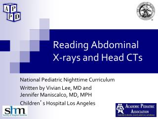 Reading Abdominal    X-rays and Head CTs