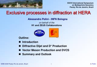 Exclusive processes in diffraction at HERA