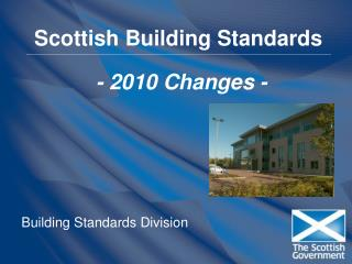 Scottish Building Standards